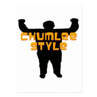 Estilo de Chumlee Postal