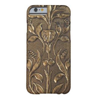 Estilo de cobre amarillo del Victorian del modelo Funda Para iPhone 6 Barely There