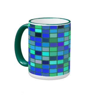 Estilo de Colorfull taza clásica del campanero de