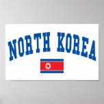 Estilo de Corea del Norte Poster
