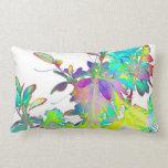 Estilo de diseñador abstracto floral de Psychedlic Cojines