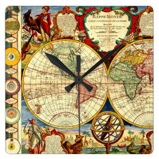 Estilo de diseñador antiguo del arte del vintage d relojes de pared