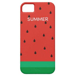 Estilo de Freshing de la sandía del verano del Funda Para iPhone 5 Barely There