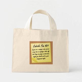 Estilo de gestión bolsa tela pequeña