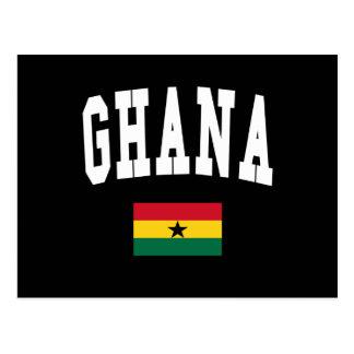 Estilo de Ghana Postales