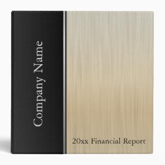 "Estilo de Gold Brush Steel Company Carpeta 2"""