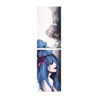 Estilo de Harajuku Impresión En Lona