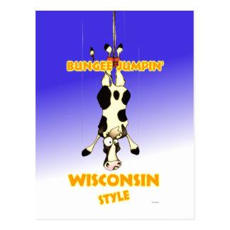 Estilo de Jumpin Wisconsin del amortiguador Postal