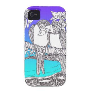 Estilo de la cubierta del teléfono celular Case-Mate iPhone 4 fundas