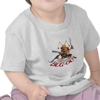 Estilo de la cucaracha del Insecto-Hacia fuera Camisetas