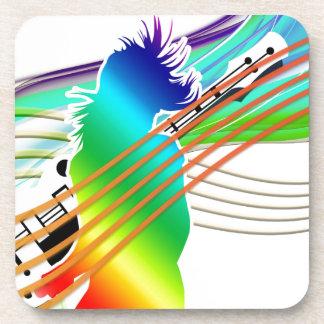 Estilo de la danza de la música posavasos