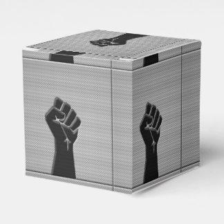 Estilo de la decoración de la fibra de carbono del cajas para regalos de fiestas