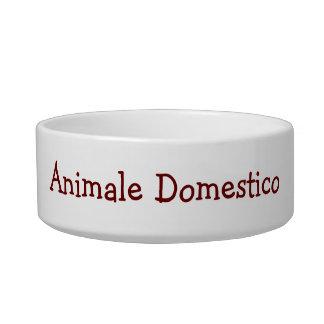 """ESTILO DE LA FAMILIA DOG-ITALIAN DE """"ANIMALE DOMES BOL PARA GATO"""