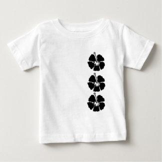 Estilo de la hawaiana del hibisco tee shirt