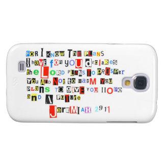 Estilo de la nota de rescate del 29:11 de Jeremiah Funda Para Galaxy S4