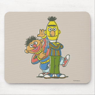 Estilo de la obra clásica de Bert y de Ernie Tapetes De Raton