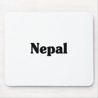 Estilo de la obra clásica de Nepal Alfombrilla De Ratones