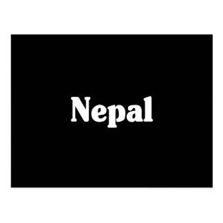 Estilo de la obra clásica de Nepal Postal