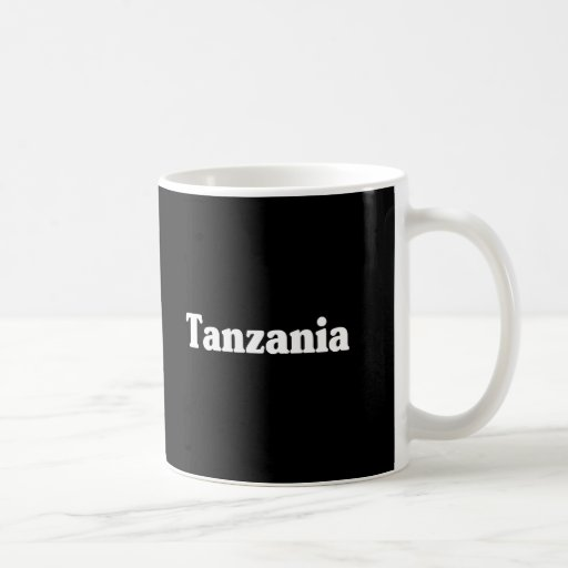 Estilo de la obra clásica de Tanzania Tazas De Café