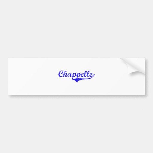 Estilo de la obra clásica del apellido de Chappell Pegatina Para Auto