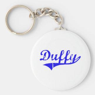 Estilo de la obra clásica del apellido de Duffy Llaveros