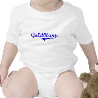 Estilo de la obra clásica del apellido de Goldblum Camisetas