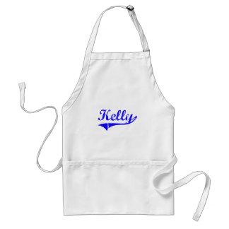 Estilo de la obra clásica del apellido de Kelly Delantales