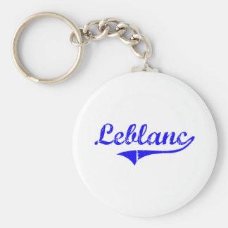 Estilo de la obra clásica del apellido de Leblanc Llavero Redondo Tipo Pin