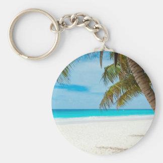 Estilo de la playa llaveros personalizados