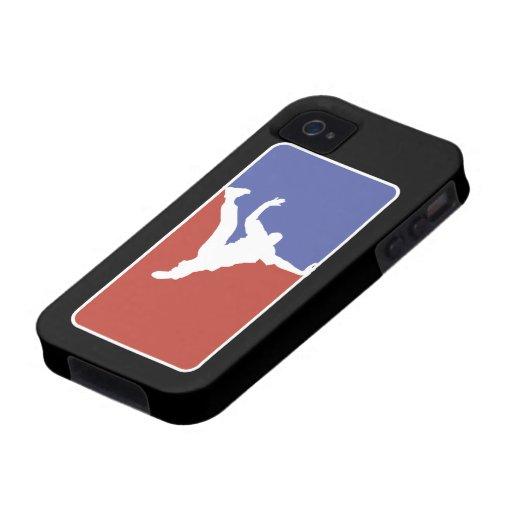 Estilo de la primera división de BBOY Vibe iPhone 4 Carcasas
