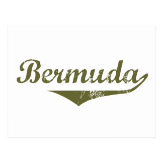 Estilo de la revolución de Bermudas Tarjeta Postal