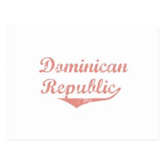Estilo de la revolución de la República Dominicana Tarjetas Postales