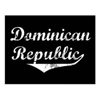 Estilo de la revolución de la República Dominicana Tarjeta Postal