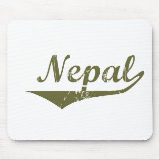 Estilo de la revolución de Nepal Alfombrilla De Raton