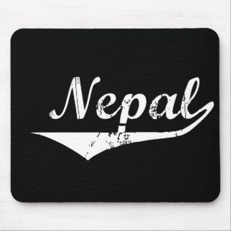Estilo de la revolución de Nepal Tapetes De Raton