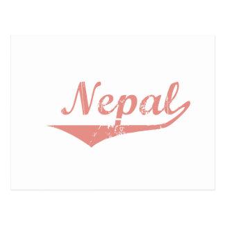 Estilo de la revolución de Nepal Tarjetas Postales