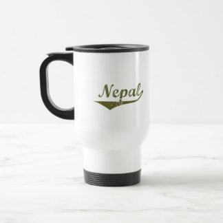 Estilo de la revolución de Nepal Tazas De Café