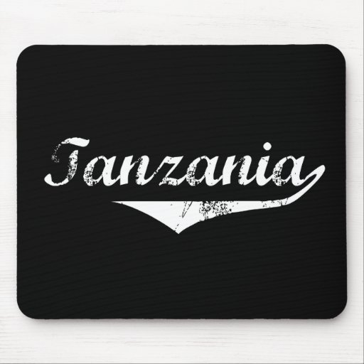 Estilo de la revolución de Tanzania Tapetes De Raton