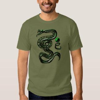 Estilo de la serpiente del jade remera