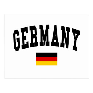 Estilo de la universidad de Alemania Tarjeta Postal