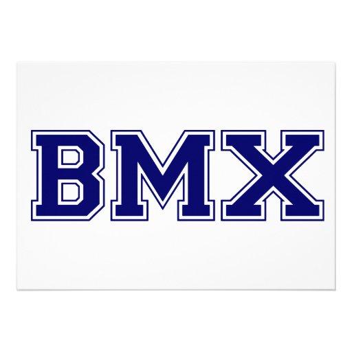 Estilo de la universidad de BMX Comunicado Personal
