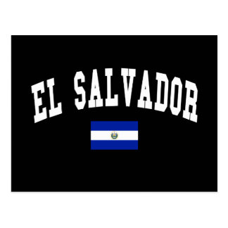 Estilo de la universidad de El Salvador Tarjetas Postales