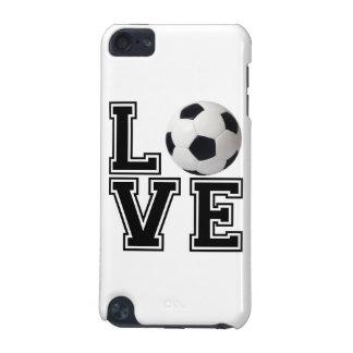 Estilo de la universidad del fútbol del amor funda para iPod touch 5G