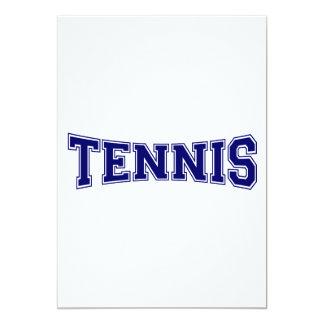 Estilo de la universidad del tenis comunicado personalizado