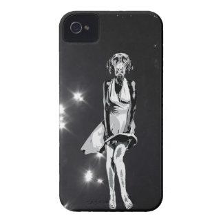 Estilo de Labrador Monroe - de Warhol iPhone 4 Case-Mate Protectores