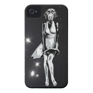 Estilo de Labrador Monroe - de Warhol Case-Mate iPhone 4 Funda