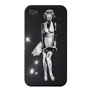 Estilo de Labrador Monroe - de Warhol iPhone 4 Protector