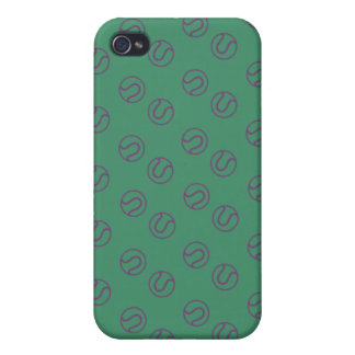 Estilo de las bolas de Wimbledon iPhone 4 Fundas