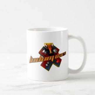 estilo de los años 90 taza de café