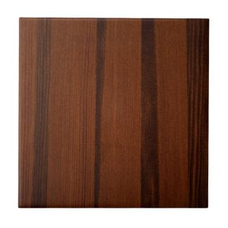 Estilo de madera azulejo cuadrado pequeño